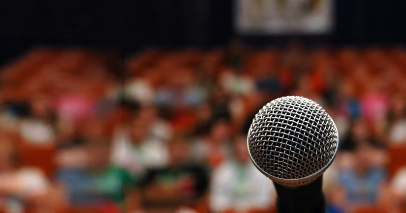 How can a good speaker make an impact on your audience?